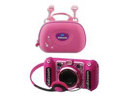 VTech Kidizoom Duo DX mit Tasche pink