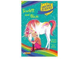 Unicorn Academy 2 Scarlett und Blaze Mit toller Glitzer Folie auf dem Cover