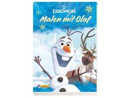 Disney Eiskoenigin Malen mit Olaf Malblock fuer Olaf Fans ab 3 Jahren