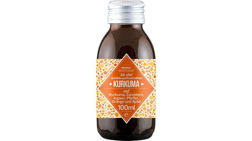 Organic Human Shot – Kurkuma