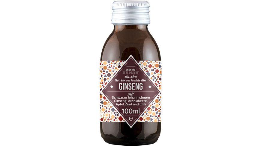 Organic Human Shot – Ginseng