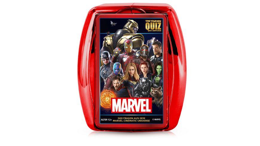 Winning Moves Top Trumps Quiz Marvel Cinematic Universe