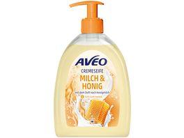 AVEO Cremeseife Milch Honig
