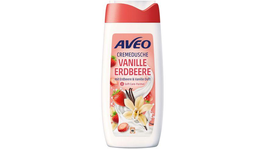 AVEO Cremedusche  Erdbeere & Vanille