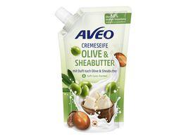 AVEO Cremeseife Olive Sheabutter Nachfuellbeutel