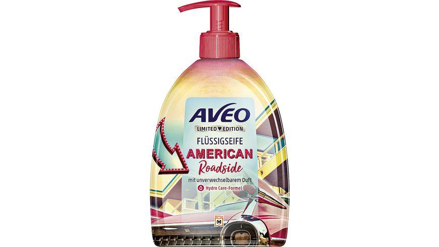 AVEO Limited Edition Fluessigseife American Roadside
