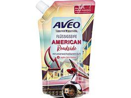 AVEO Limited Edition Fluessigseife American Roadside Nachfuellbeutel