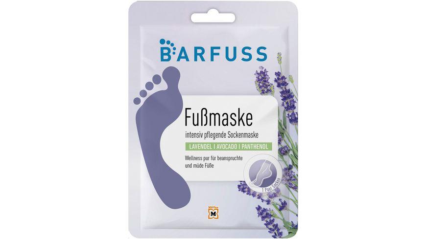 BARFUSS Fußmaske, pflegende Sockenmaske