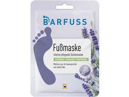 BARFUSS Fussmaske pflegende Sockenmaske
