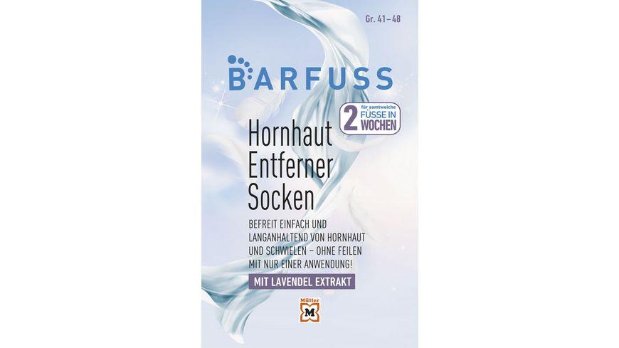 BARFUSS Hornhautsocke XL Gr. 41-48