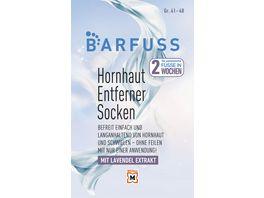 BARFUSS Hornhautsocke XL Gr 41 48