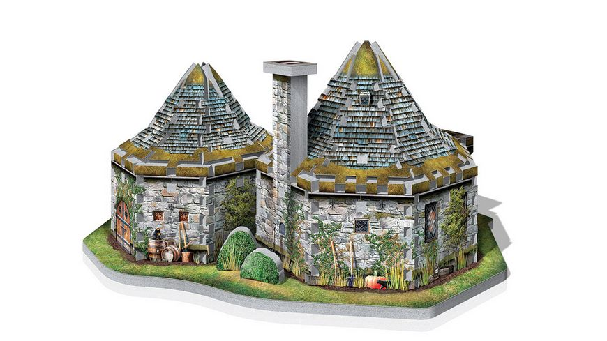 Wrebbit 3D Puzzle Harry Potter Hagrids Huette Harry Potter 270 Hagrids Hut