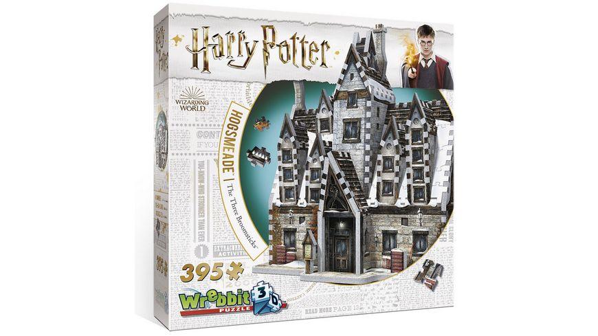 Wrebbit 3D Puzzle - Harry Potter - Hogsmeade Gasthaus Die drei Besen - Harry Potter (395),Hogsmeade The three broom