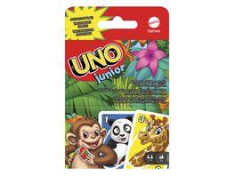 Mattel Games UNO Junior Kartenspiel Kinderspiel Familienspiel