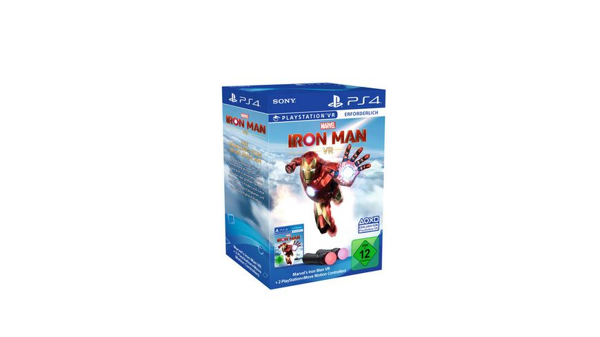 Marvel Iron Man VR Move Twin Pack