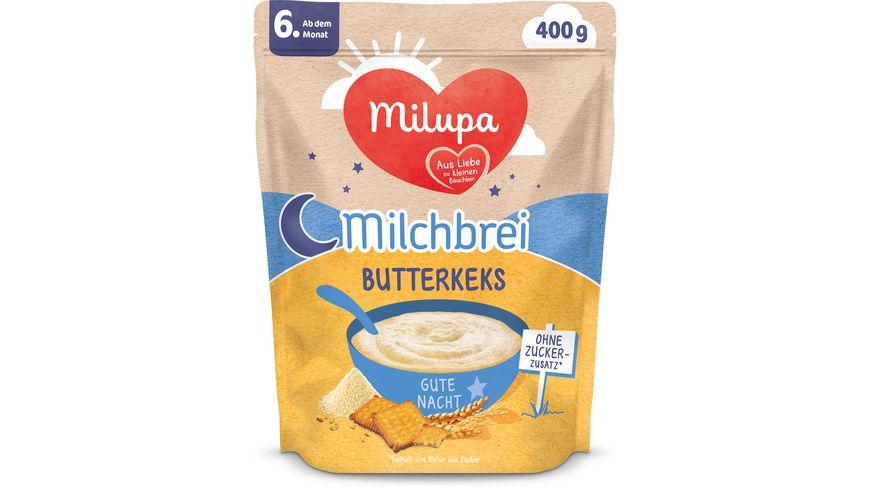 Milupa Beikost Milchbrei Butterkeks Gute Nacht ab dem 6. Monat