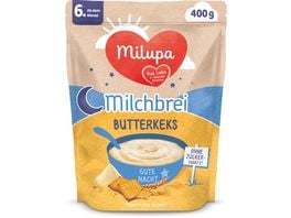 Milupa Beikost Milchbrei Butterkeks Gute Nacht ab dem 6 Monat