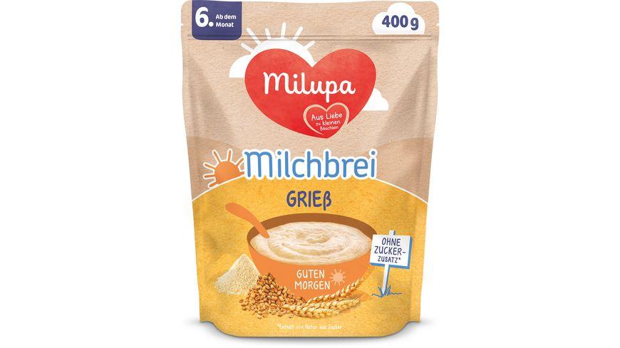 Milupa Beikost Milchbrei Grieß Guten Morgen ab dem 6. Monat