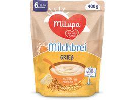 Milupa Beikost Milchbrei Griess Guten Morgen ab dem 6 Monat