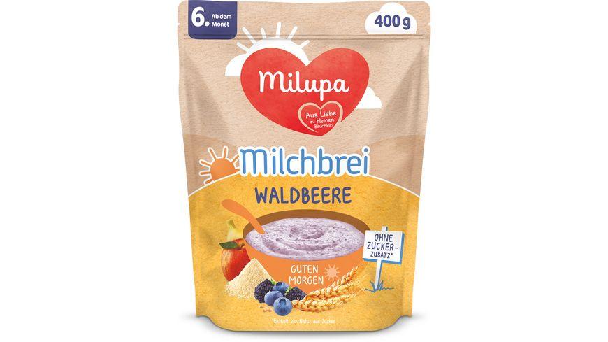 Milupa Beikost Milchbrei Waldbeere Guten Morgen ab dem 6. Monat