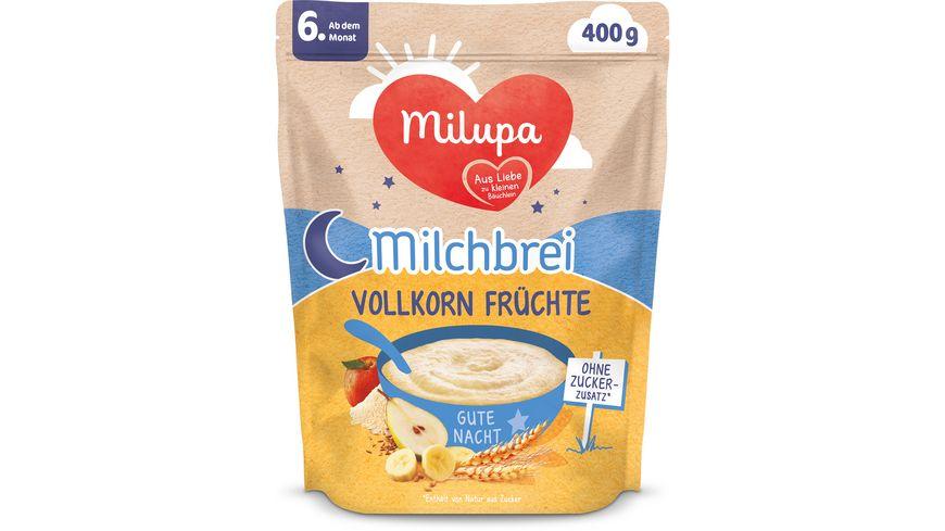 Milupa Beikost Milchbrei Vollkornfrüchte Gute Nacht ab dem 6. Monat