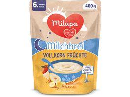 Milupa Beikost Milchbrei Vollkornfruechte Gute Nacht ab dem 6 Monat