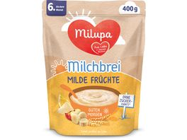 Milupa Beikost Milchbrei Milde Fruechte Guten Morgen ab dem 6 Monat