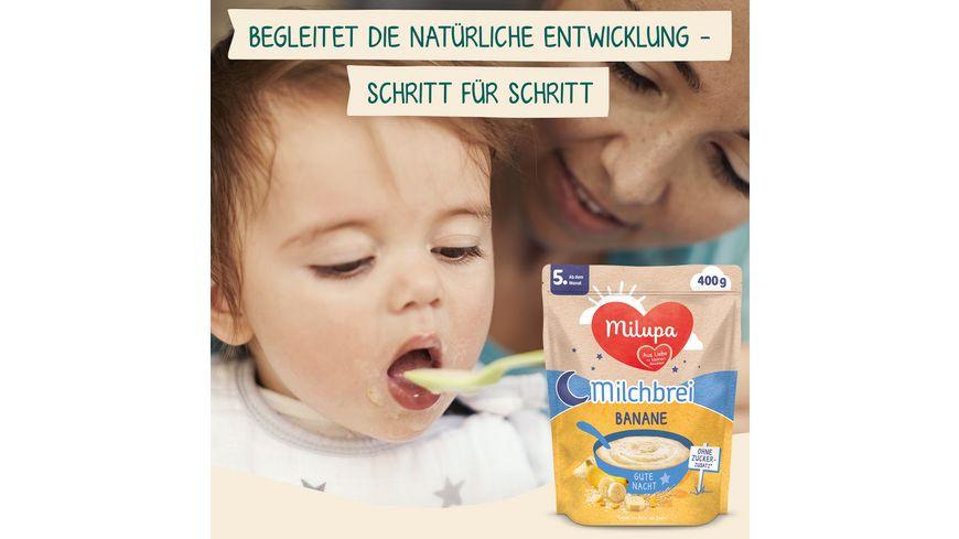 Milupa Milchbrei Banane Gute Nacht ab dem 4 Monat