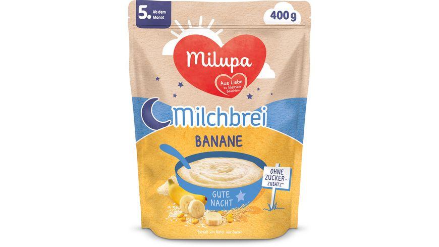 Milupa Beikost Milchbrei Banane Gute Nacht ab dem 4. Monat