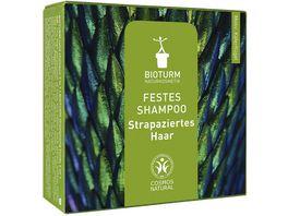 BIOTURM Festes Shampoo Strapaziertes Haar Nr 133