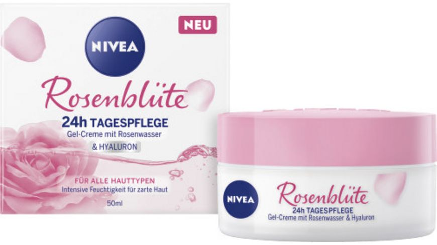NIVEA Rosenblüte Gel-creme Tagespflege