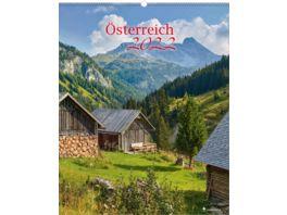Bildkalender Oesterreich 24x34 cm