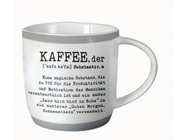GRAFiK WERKSTATT Tasse Kaffee