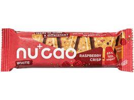 nucao white Raspberry Crisp Bio Riegel