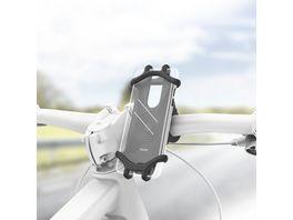 Hama Uni Smartphone Fahrradhalter fuer Geraete mit 6 8 cm Breite und 13 15 cm Hoehe