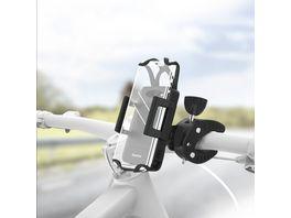 Hama Universal Smartphone Fahrradhalter fuer Geraete mit Breite von 5 9 cm