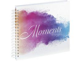 Hama Spiral Album Watercolor Moments 28x24 cm 50 weisse Seiten