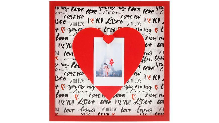 "Hama Porträtrahmen ""Love"", 21,2 x 21,2 cm"