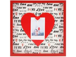 Hama Portraetrahmen Love 21 2 x 21 2 cm