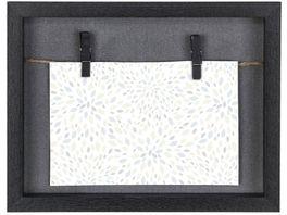 Hama Portraetrahmen Galerie Cavo Schwarz 16 5 x 21 5 cm