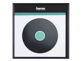 Hama LP Cover Rahmen Aluminium Schwarz 31 5 x 31 5 cm