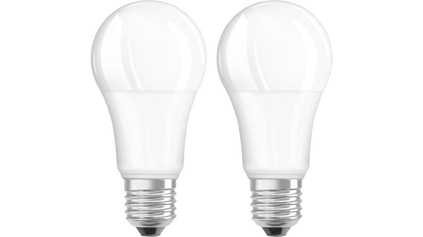 Hama LED Lampe E27 1521lm ersetzt 100W Gluehlampe Warmweiss 2 Stueck