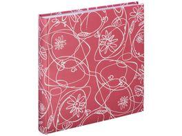 Hama Jumbo Album Decori II 30x30 cm 100 weisse Seiten Flamingo