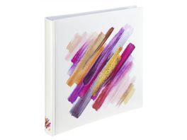 Hama Jumbo Album Brushstroke 30x30 cm 80 weisse Seiten Rot