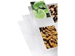 Hama Foto Huellen DIN A4 4 8 Fotos im Format 10x15 cm klar 10 Stueck