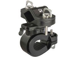 Hama Universal Taschenlampen Halter fuer Fahrradlenker 360 drehbar Schwarz