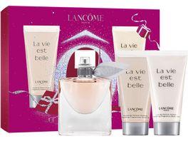 LANCOME La vie est belle Eau de Parfum Bodylotion Duschgel Geschenkset