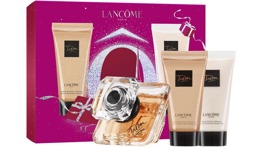 LANCOME Tresor Eau de Parfum Bodylotion Duschgel Geschenkset