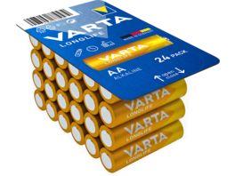 VARTA LONGLIFE Alkaline Batterie AA Mignon LR6 24 Stueck