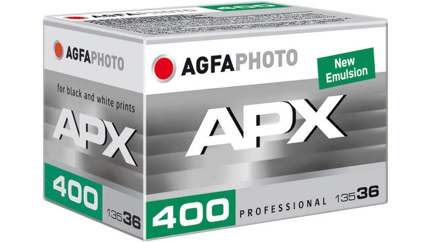 AGFAPHOTO APX Pan 400 135/36 Schwarzweiß Fotofilm